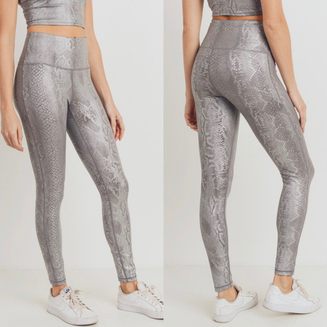 Snake Skin Leggings