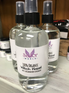 100% Organic Witch Hazel 8oz