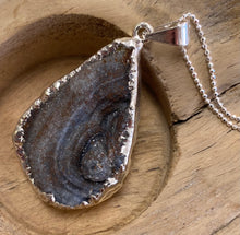 Load image into Gallery viewer, Druze Silver Plated with Sterling Silver Chain