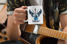 Laden Sie das Bild in den Galerie-Viewer, Tasse Guitar God - Gitarristen - Kaffeebecher