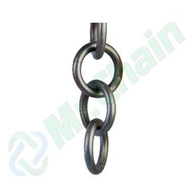 Silver-Metalic Ring Plastic Chains