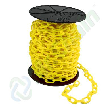 Yellow Reel Plastic Chains