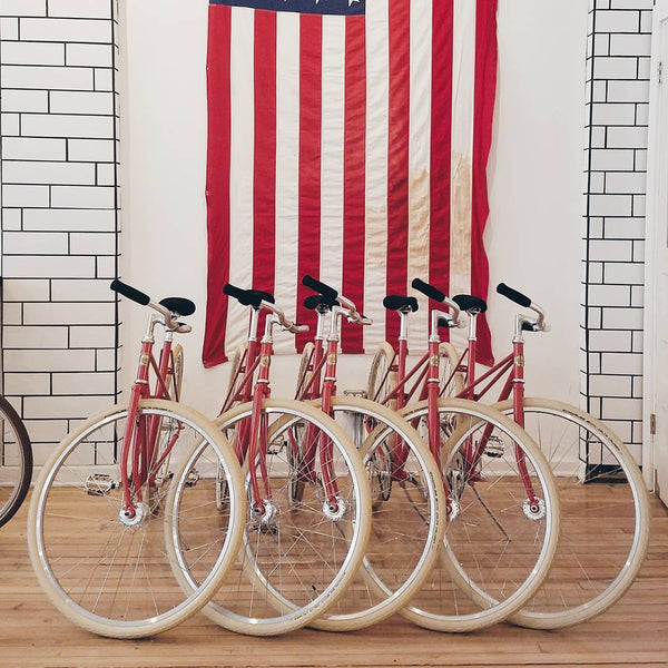 Heritage Bicycles fleet bikes for hotels