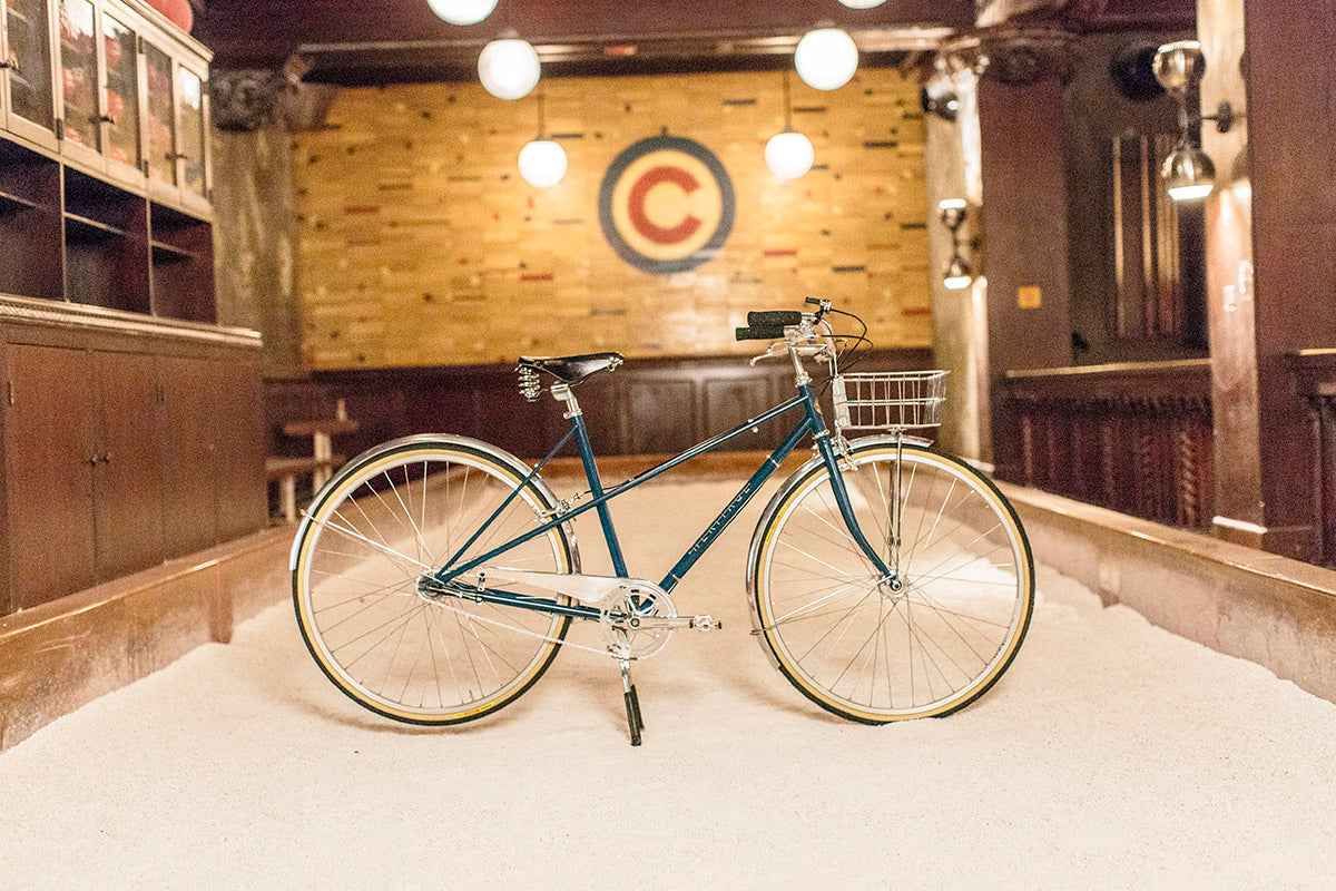 Heritage Bicycles Custom Daisy | Heritage Bicycles and Coffee