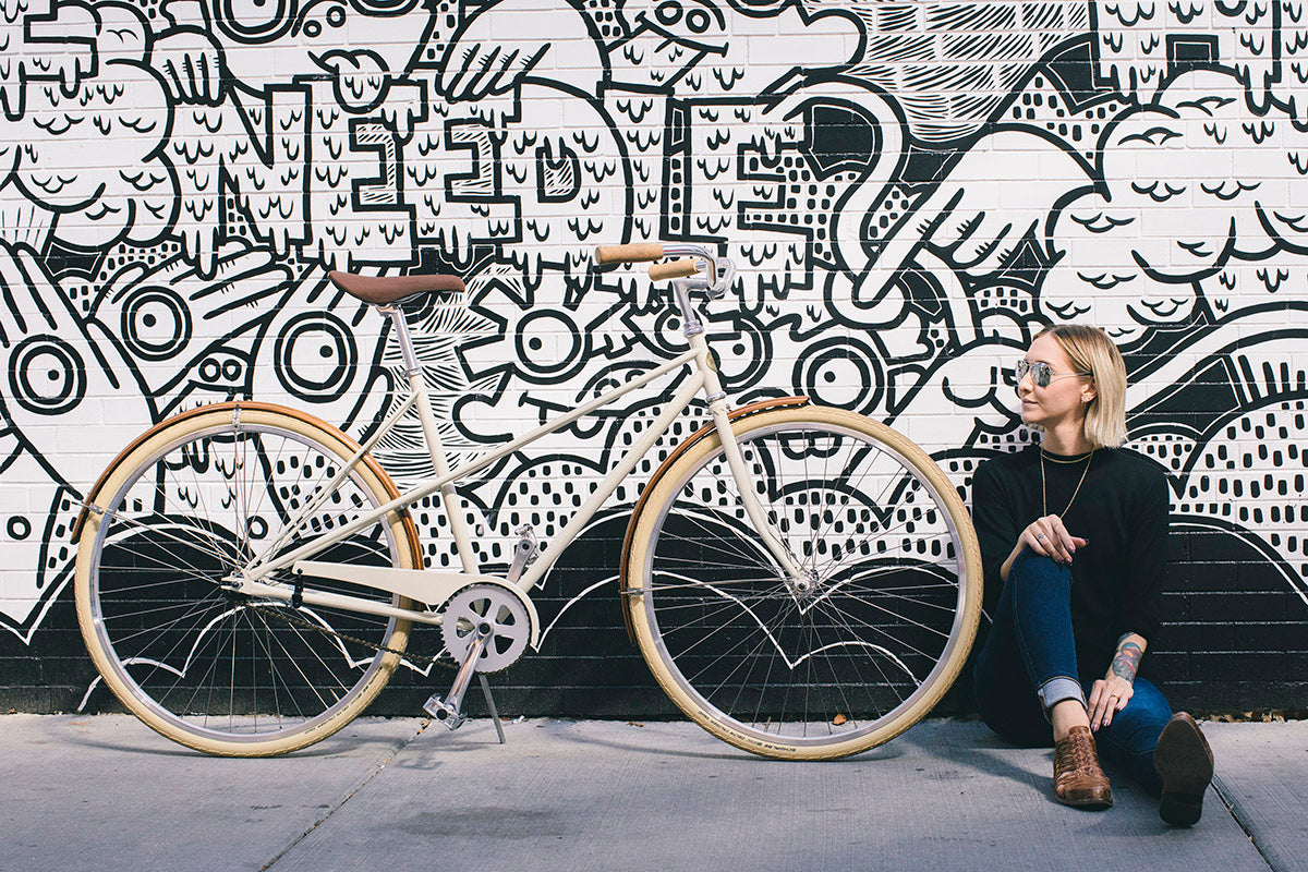 Heritage Daisy in size large | Heritage Bicycles and Coffee