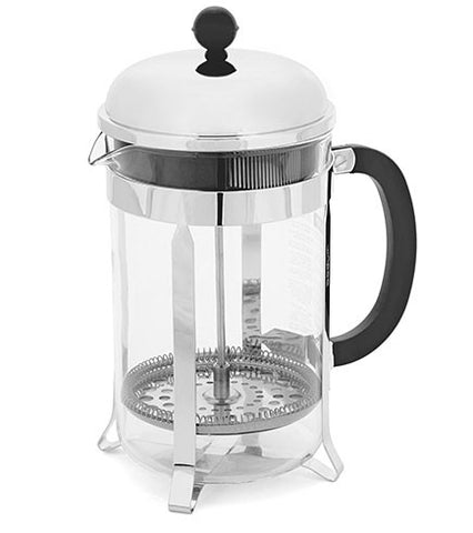 12 Cup Bodum French Press - Chrome