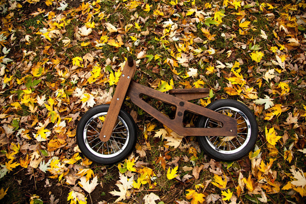 Bennett Balance Bike Wood fall