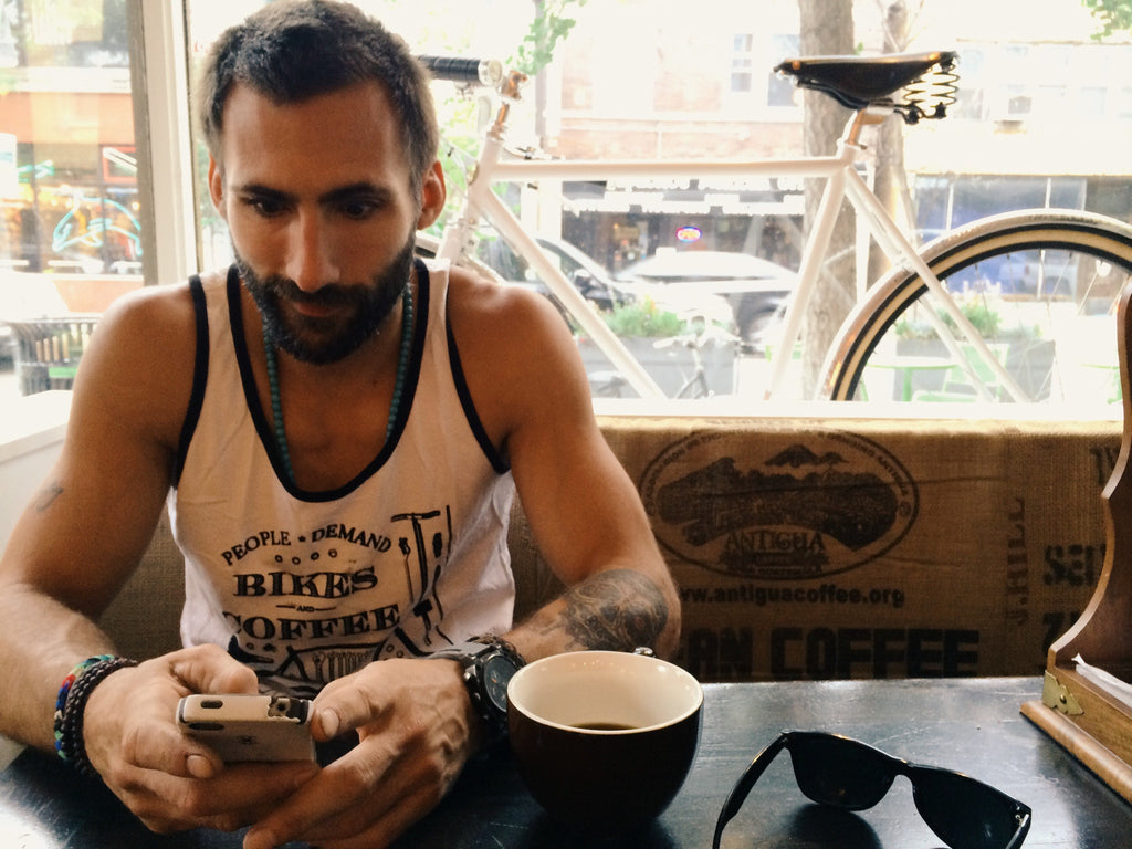 Bikes & Coffee Tank Top