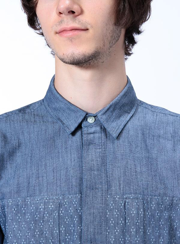 Levis City Shirt - Blue collar