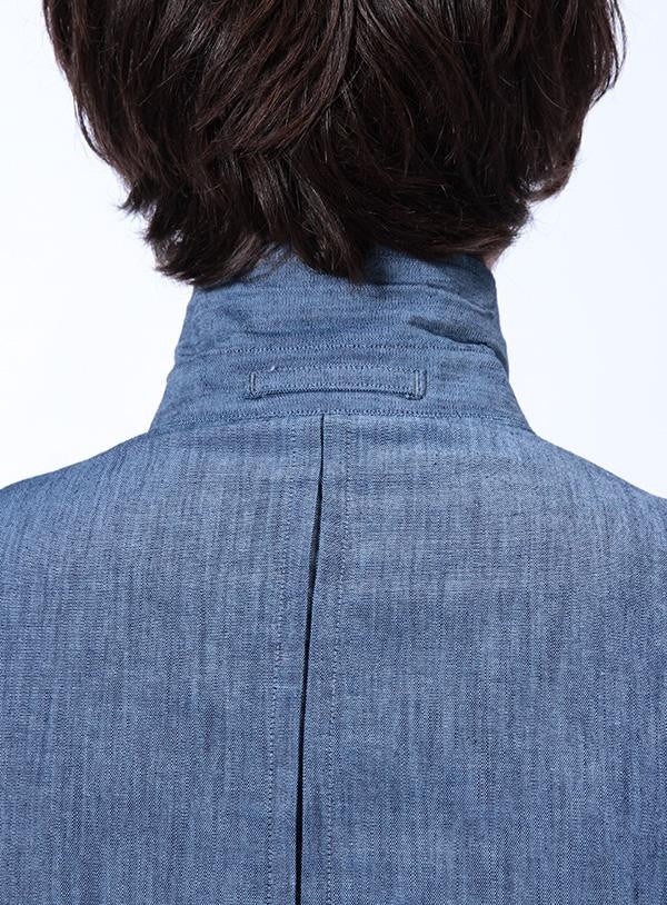 Levis City Shirt - Blue back detail