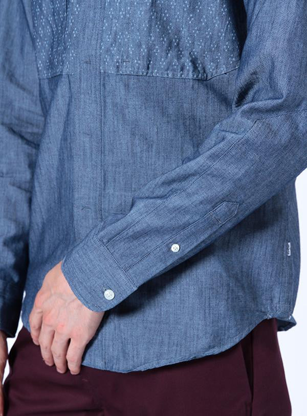 Levis City Shirt - Blue cuff detail