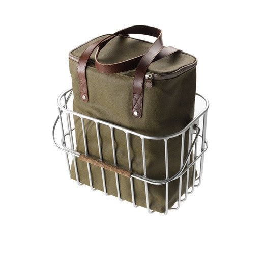 Hoston Wire Basket with tote bag