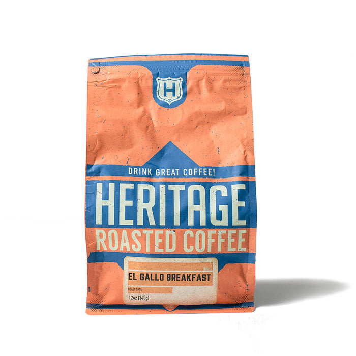 Heritage Outpost Coffee - El Gallo Breakfast Blend