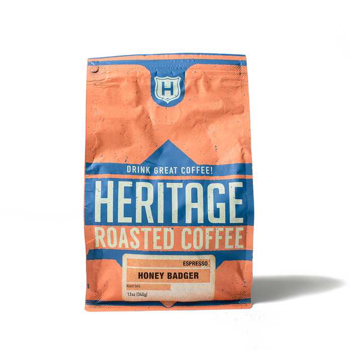 Heritage Outpost Coffee - Honey Badger Espresso