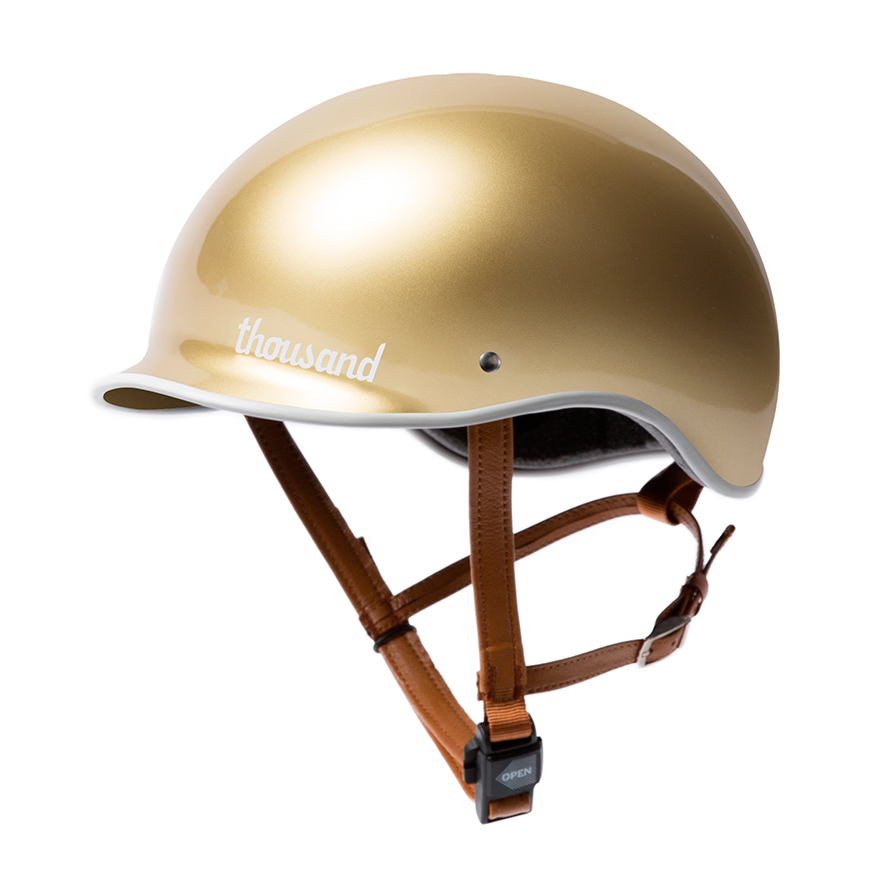 Thousand Helmet | Stay Gold | Heritage Bicycles and Coffee