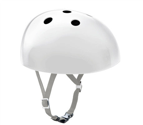 White Yakkay Bicycle Helmet Smart Two