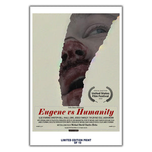 "Eugene Vs  Humanity (""USFF"" Poster) - 12""x18"" *Signed & Numbered*"