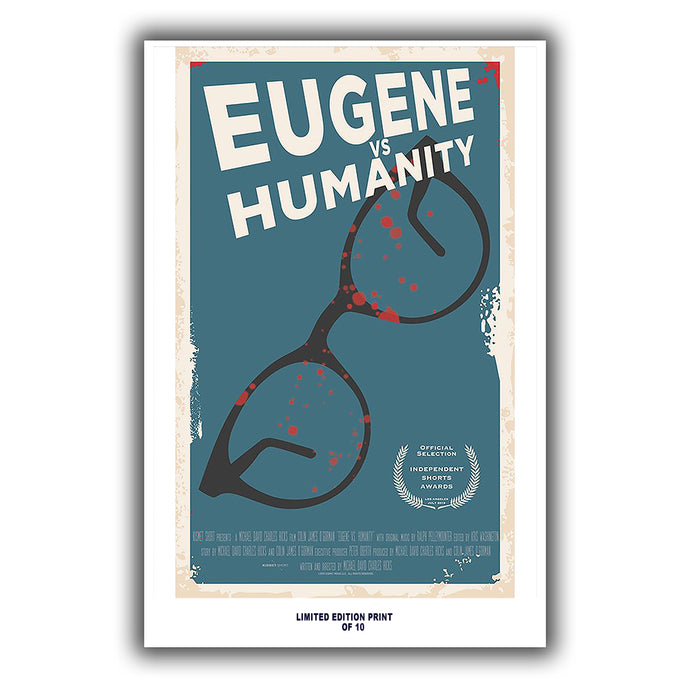 Eugene Vs  Humanity (Independent Shorts Festival Poster) - 12