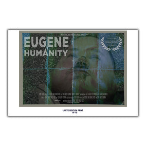 "Eugene Vs  Humanity (Hollywood Blood Festival Poster) - 12""x18"" *Signed & Numbered*"