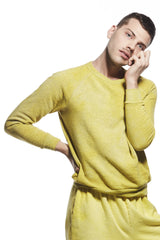 ALR HEATHERED YELLOWS SWEATSHIRT