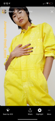 ALR TURMERIC USA FARMED JUMPSUIT - SOLD OUT BUT AVAILABLE MADE TO ORDER