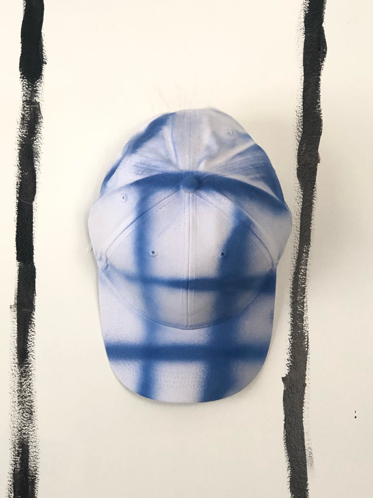 RAD PLAID BASEBALL HAT IN INDIGO