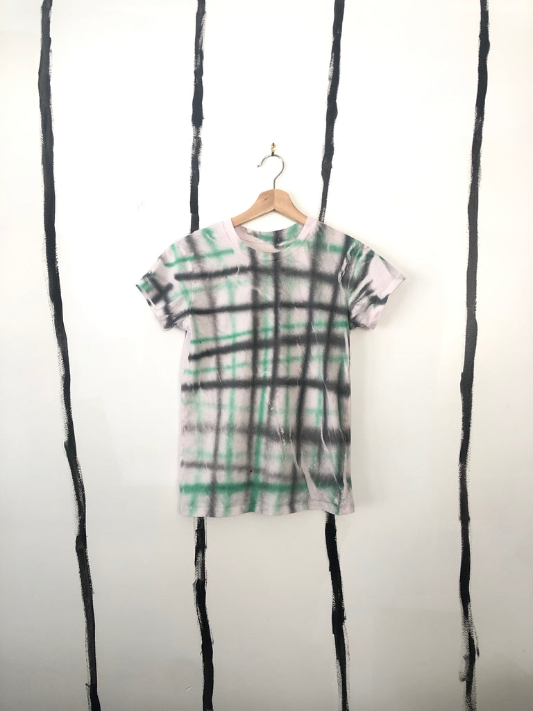 ** BRAND NEW - ALR RAD PLAID FITTED T-SHIRT