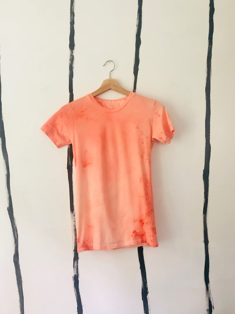 ALR FITTED SHIRT IN CANTALOUPES - ONE OF A KIND