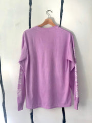 ALR EnviroMETAL LONG SLEEVE TEE  in LILAC - ONLY 1 LEFT!!!