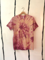 ALR CLASSIC SHIRT TIE DYED IN WILD FORAGED BERRIES AND GOLDENROD - SMALL ONE OF A KIND - SOLD OUT!!!