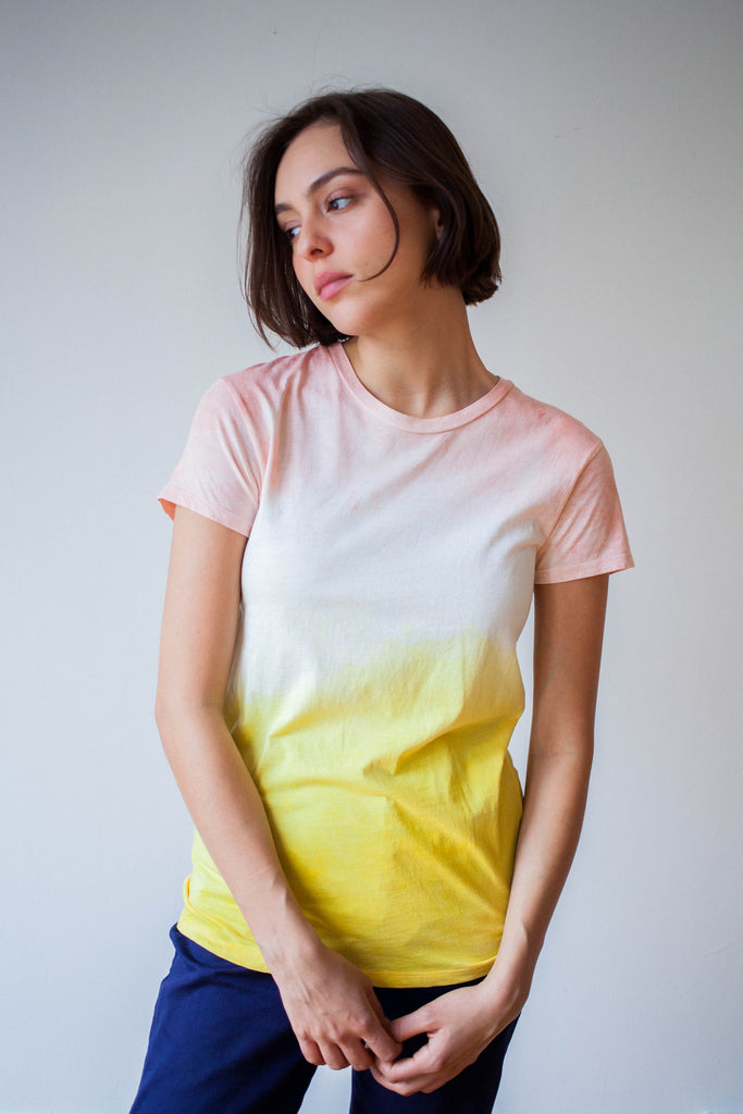 ALR FLOWER AND TURMERIC SHIRT