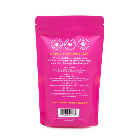 PREP Your Skin - Neroli Bergamot Bath Soak, Back