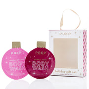 Holiday Ornament Body Wash Gift Set