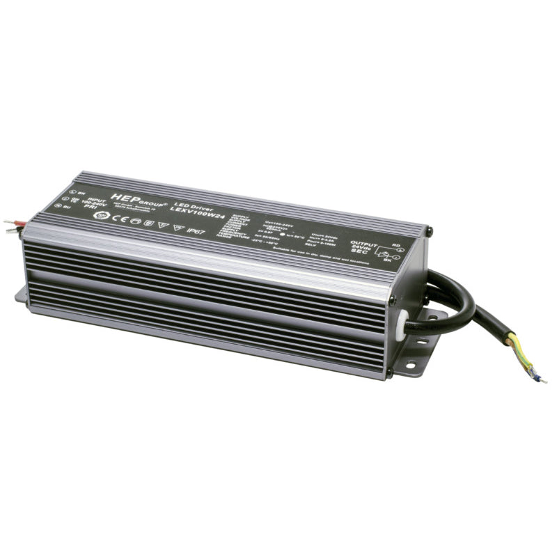 Saas Instrument LED Vakiojännite Liitäntälaite Highline Strip Power 100W/24V/IP65 - kozyfi.myshopify.com