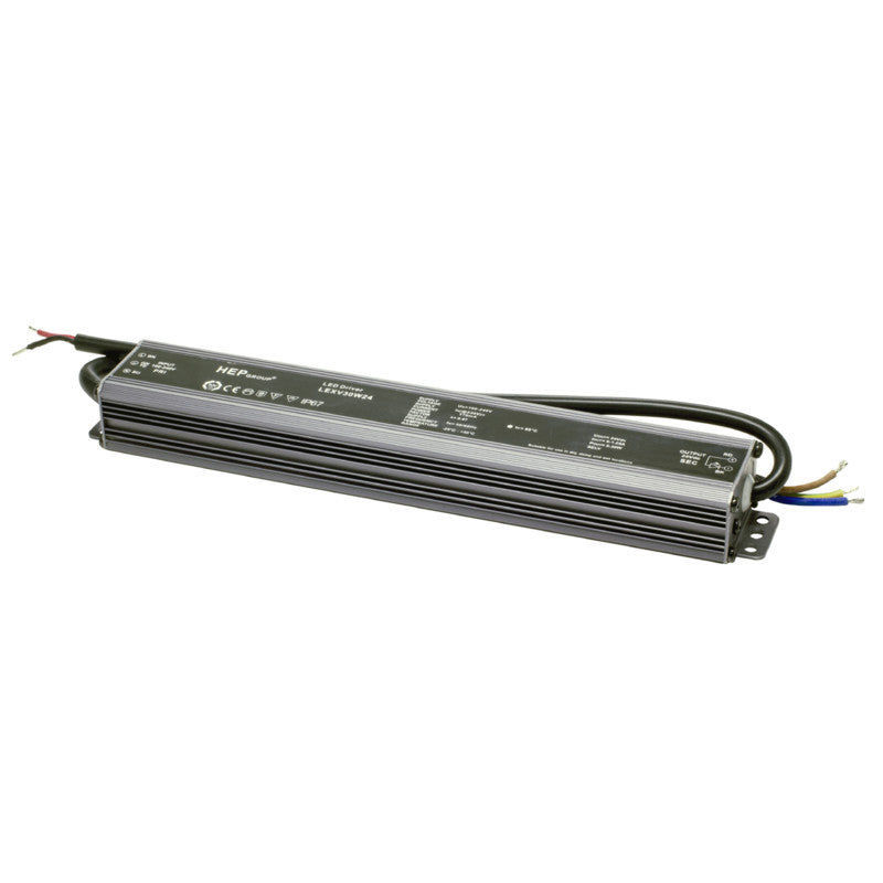 Saas Instrument LED Vakiojännite Liitäntälaite Highline Strip Power 30W/24V/IP65 - kozyfi.myshopify.com