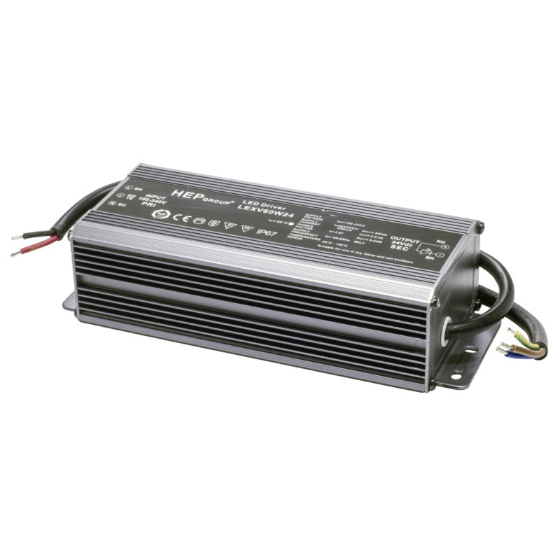 Saas Instrument LED Vakiojännite Liitäntälaite Highline Strip Power 60W/24V/IP65 - kozyfi.myshopify.com