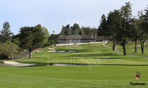 Professional Photograph of Hole #9