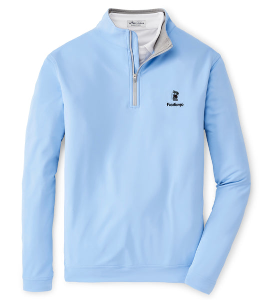 Peter Millar Perth Quarter Zip - Blue