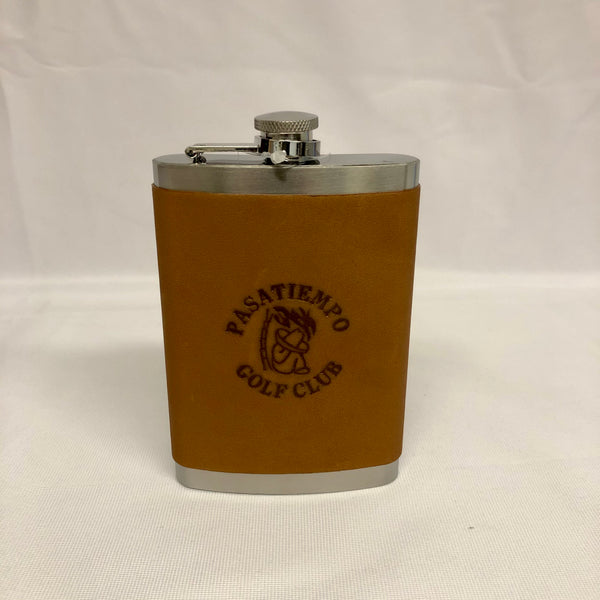 TICA Leather Flask