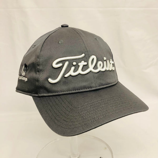 Titleist Performance Adjustable Hat - Grey