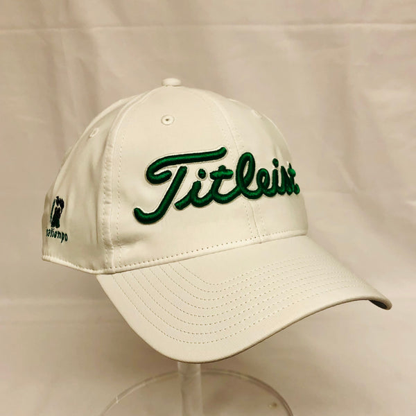 Titleist Performance Adjustable Hat - White/Green