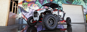 Hoonigans' Polaris RZR Gets Beadlock Wheels