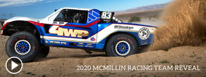 McMillin Racing 2020 Team Reveal: VIDEO