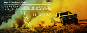 1000 Mile Race in Baja
