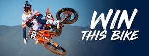 ENTER TO WIN |  KTM 250SX F Dirtbike