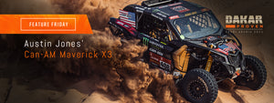 AJ Jones Monster Energy Can-Am Maverick X3 | Feature Friday