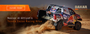 Nasser Al-Attiyah's Gazoo Racing Toyota Hilux | Feature Friday