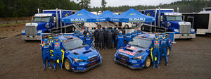 Subaru Motorsports USA Double Podium at Olympus Rally