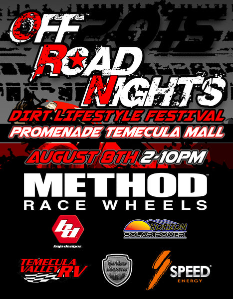 Temecula Off Road Nights | Method Race Wheels