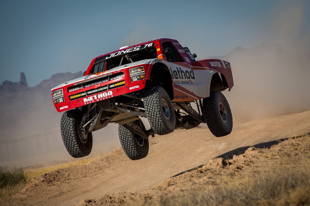 Jesse Jones Mason Motorsports AWD Trophy Truck with Method Race Wheels